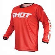 Shot Devo Raw MX Jersey Red